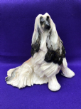 Eve Pearce Hand-Made Model - Afghan Hound Cream & Black